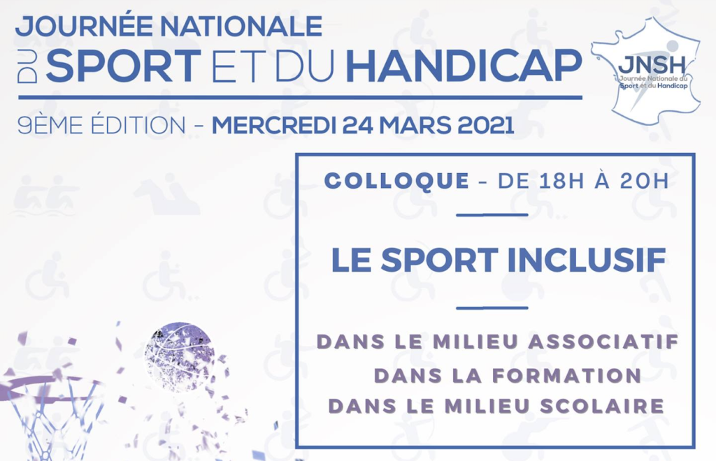 "Intervention au colloque ""Le sport inclusif"""