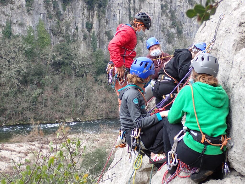 Préparation au séjour d'escalade dans les Gorges du Verdon